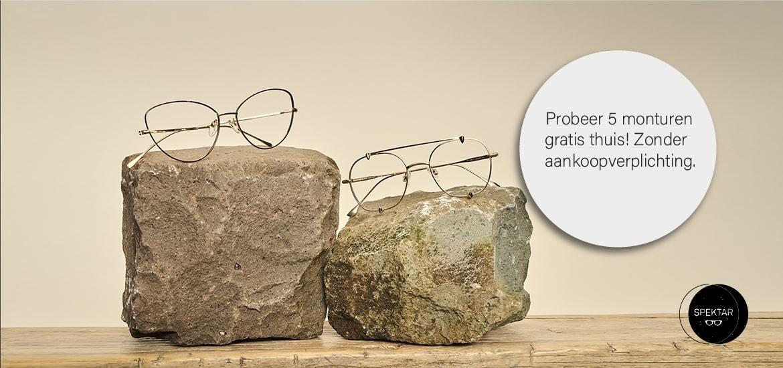 Brillen Online Kopen - Probeer gratis 5 monturen thuis