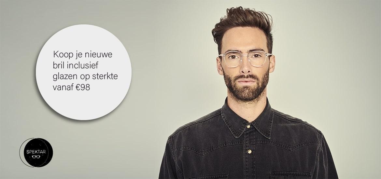 Brillen Online Kopen - Bestel een complete bril inclusief glazen op sterkte